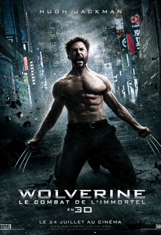 Wolverine : Le combat de l'Immortel - Affiche