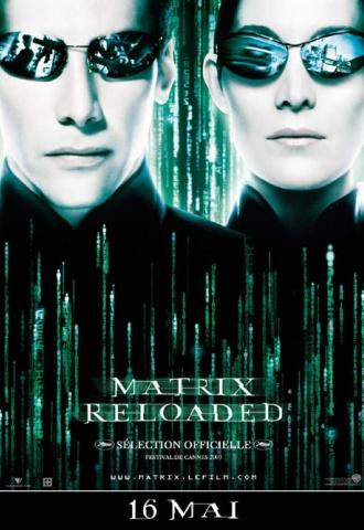 Matrix Reloaded - Affiche