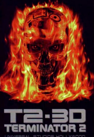 T2 3-D: Battle Across Time - Affiche