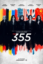 The 355 - Affiche