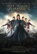 Orgueil et Préjugés et Zombies - Affiche