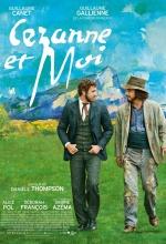 Cézanne et moi - Affiche