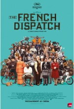 The French Dispatch - Affiche