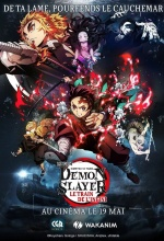 Demon Slayer - Kimetsu no Yaiba - Le film : Le train de l'infini - Affiche