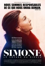 Simone - Le voyage du siècle - Affiche