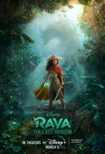 Raya et le Dernier Dragon - Affiche