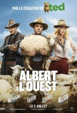 Albert à l'Ouest - Affiche