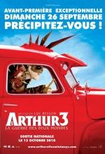 Arthur 3 et la guerre des deux mondes - Affiche