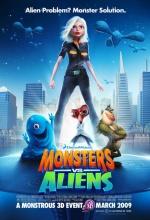 Monstres Contre Aliens - Affiche