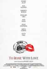 To Rome With Love - Affiche