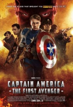 Captain America : The First Avenger - Affiche