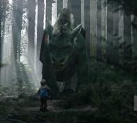 Peter et Elliott le Dragon- Photo